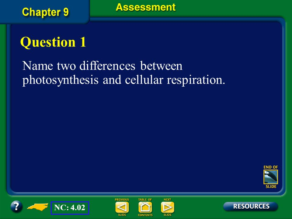 Chapter Summary – 9.3 Getting Energy to Make ATP In cellular respiration, cells break down carbohydrates to release energy. The first stage of cellula