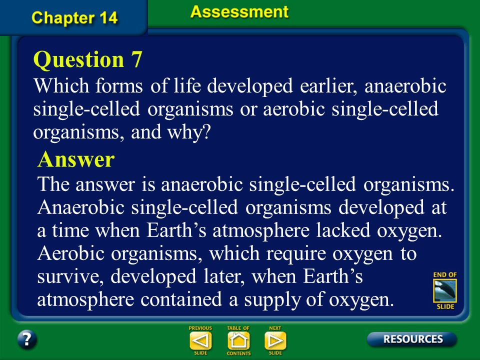 Chapter Assessment Question 6 About how many years ago do fossils indicate that photosynthetic prokaryotic cells existed on Earth? A. 5.4 billion year