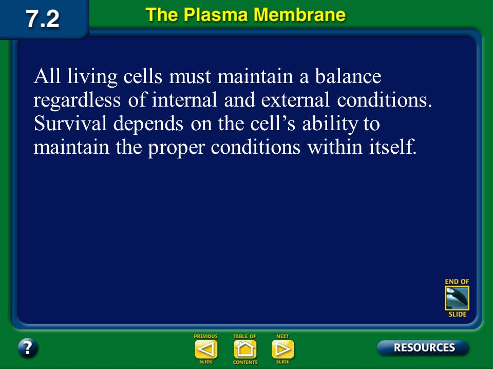 Section 2 Objectives – page 175 Section Objectives Relate the function of the plasma membrane to the fluid mosaic model. Explain how a cells plasma me