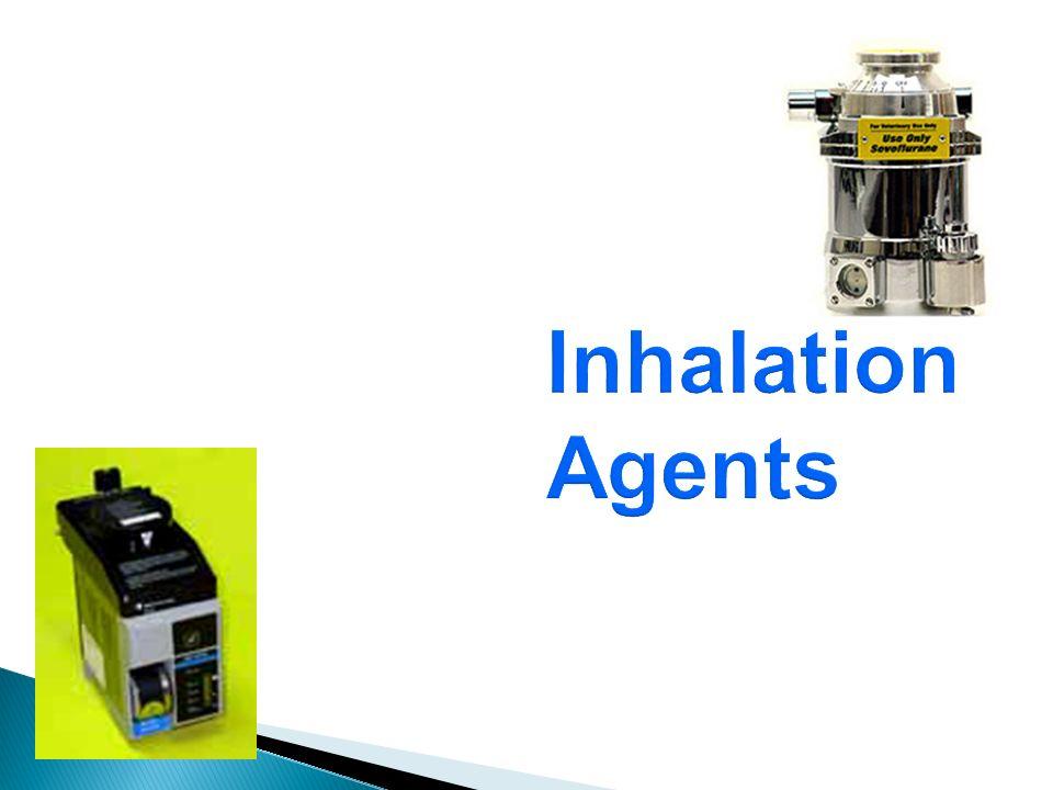 Inhalation Agents