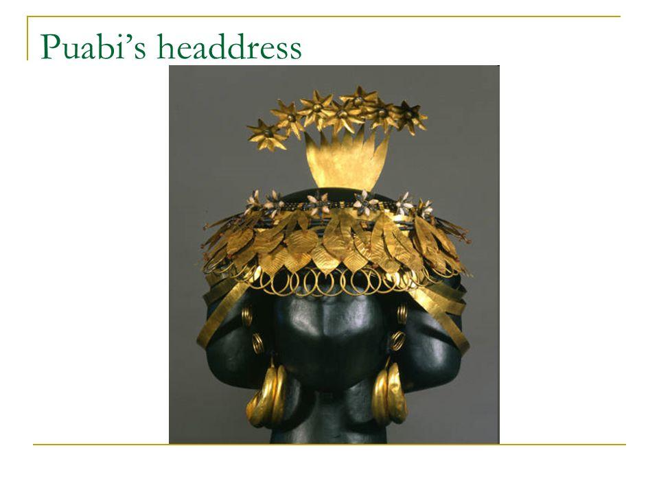 Puabis headdress