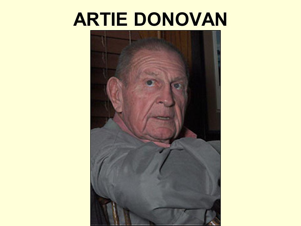 ARTIE DONOVAN
