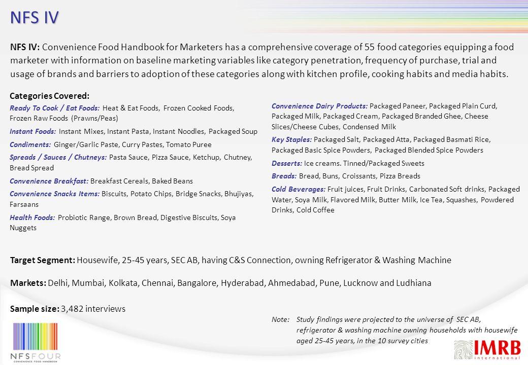 NFS V NFS V: What India eats.