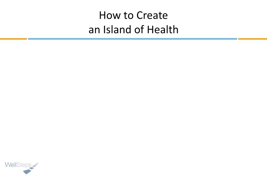 How to Create an Island of Health