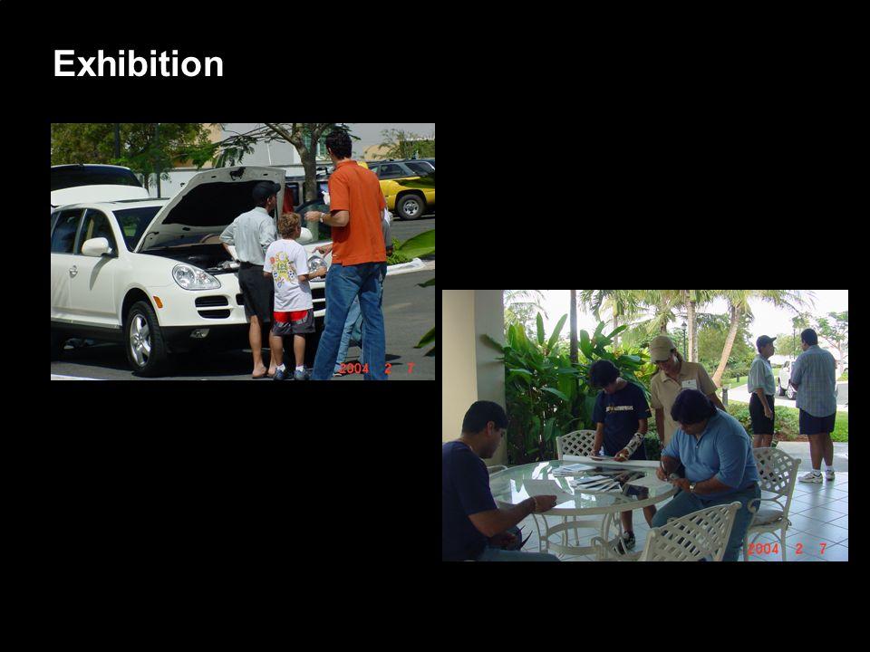 Porsche Latin America, Inc. 14 June 15, 2004 Exhibition
