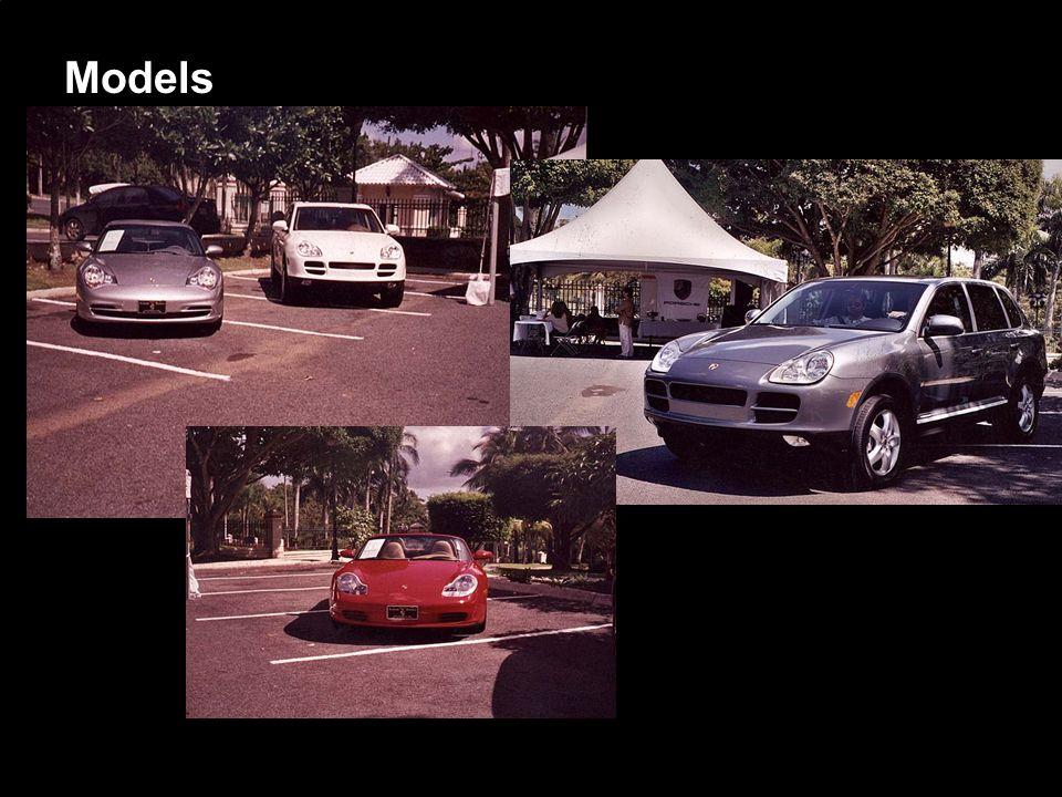 Porsche Latin America, Inc. 23 June 15, 2004 Models