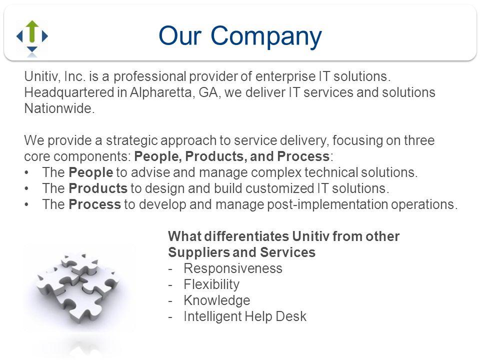 Unitiv, Inc. is a professional provider of enterprise IT solutions.