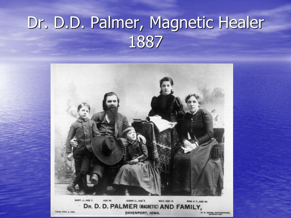 Dr. D.D. Palmer, Magnetic Healer 1887