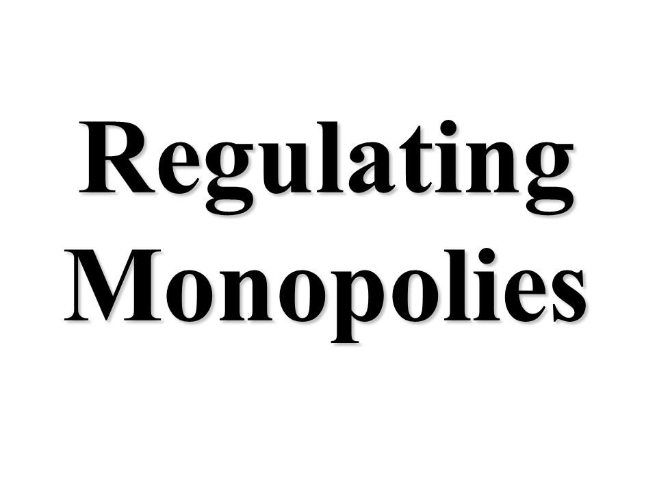 D MC MR Q 200 175 150 125 100 75 50 25 0 1 2 3 4 5 6 7 8 9 10 Price, costs, and revenue Do Monopolies Have Allocative Efficiency? Does Price = MC? ATC