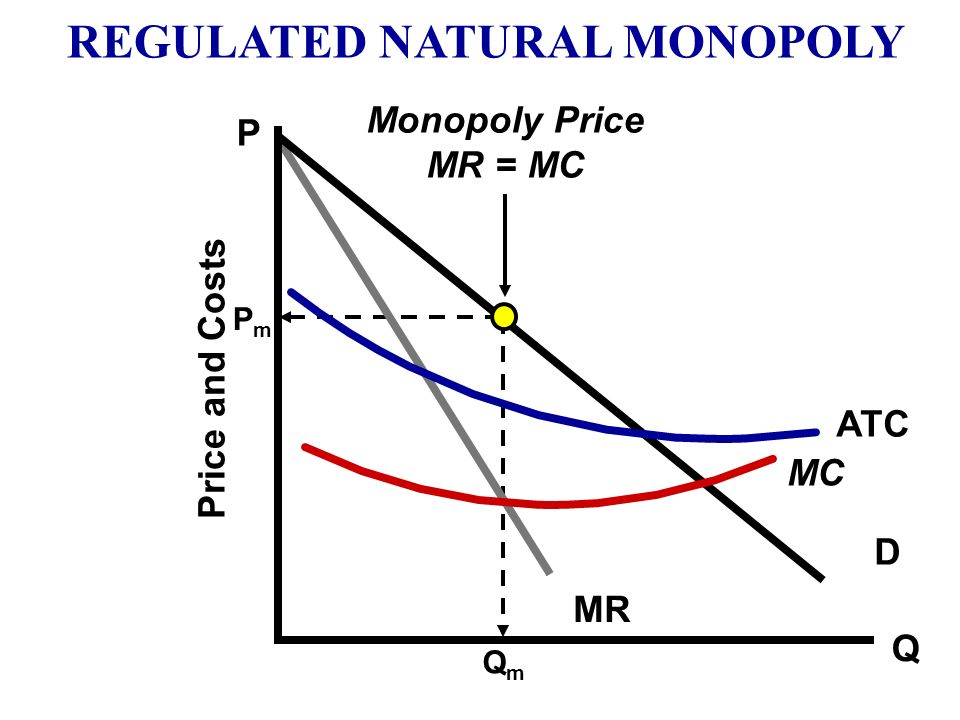 1.Socially Optimal Price P = MC (Allocative Efficiency) Where should the government place the price ceiling? 2. Fair-Return Price (Break–Even) P = ATC