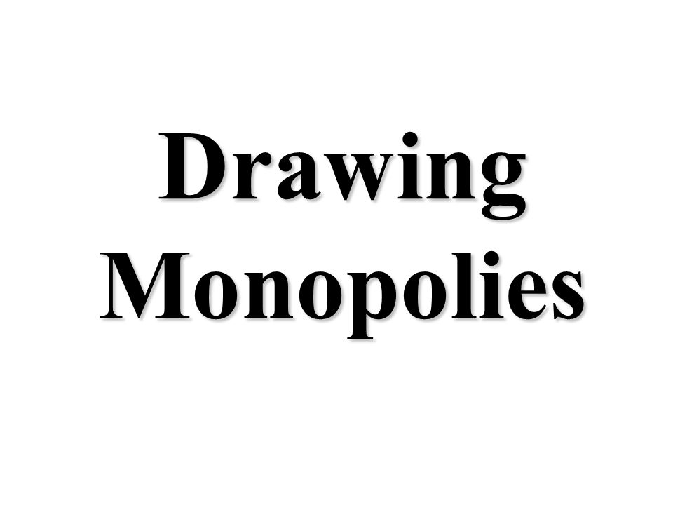5 Characteristics of a Monopoly 5 Characteristics of a Monopoly 3. Price Maker 2. Unique good with no close substitutes The firm can change the price