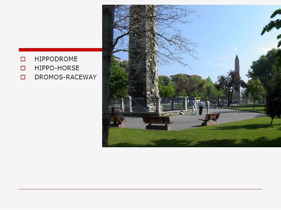 HIPPODROME HIPPO-HORSE DROMOS-RACEWAY