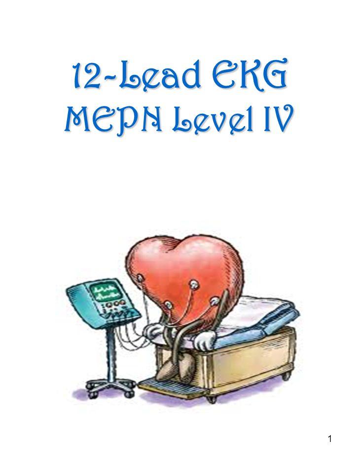1 12-Lead EKG MEPN Level IV