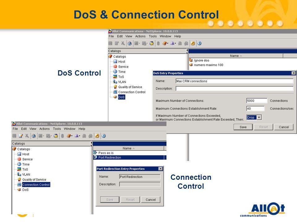 36 DoS & Connection Control DoS Control Connection Control