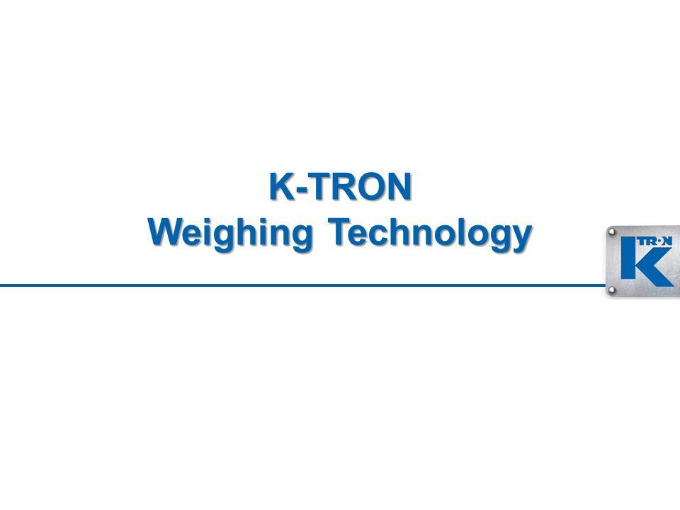 K-TRON Weighing Technology