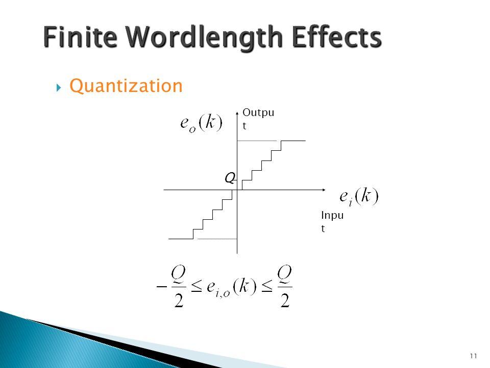 Quantization Q Outpu t Inpu t 11