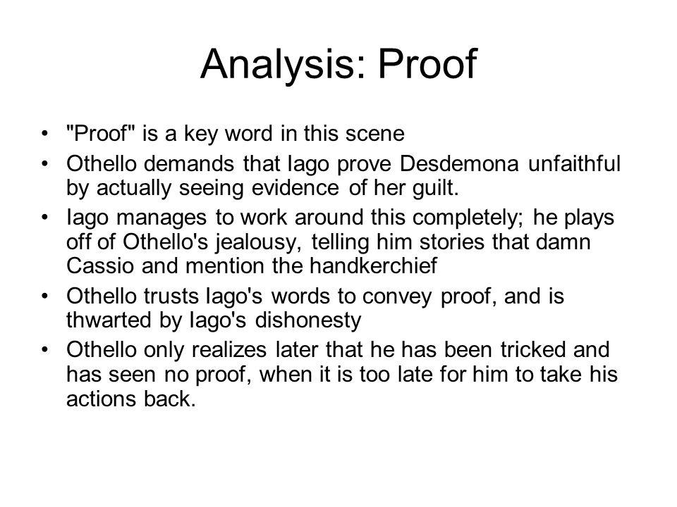 Analysis: Proof