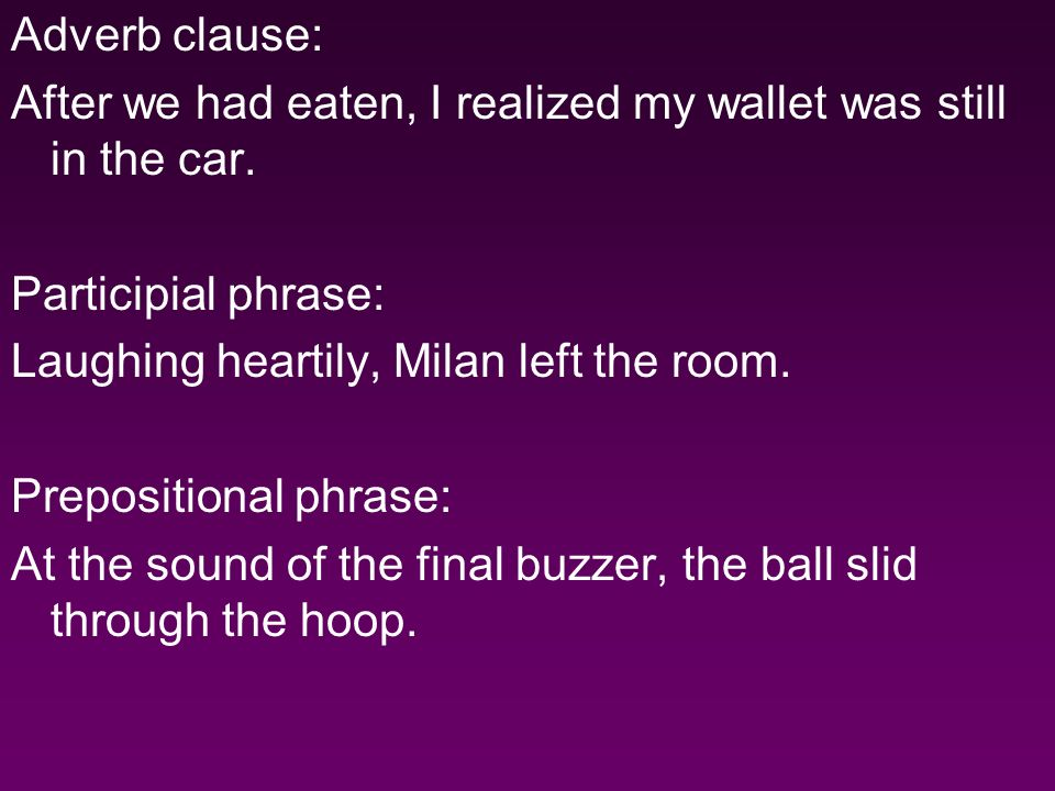 2.Choose the sentence that is correct. A. Oh I thought Id lost it in the car.