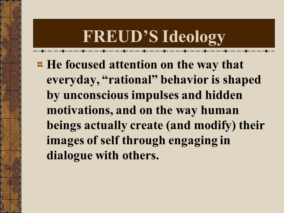 Psychological Novel Freud (1856-1939): feeling, unconscious, inward journey into self, back into past/ childhood keys to understanding human nature/be
