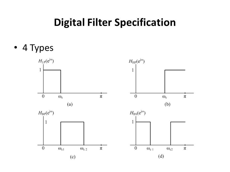 Bartlett (Triangular) Window Medium main lob – 8 /M Side lobs – -25 dB Hamming window performs better Simple equation