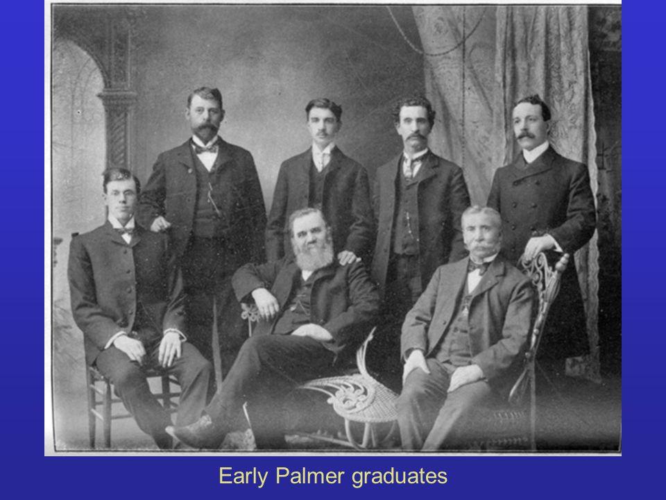 Early Palmer graduates
