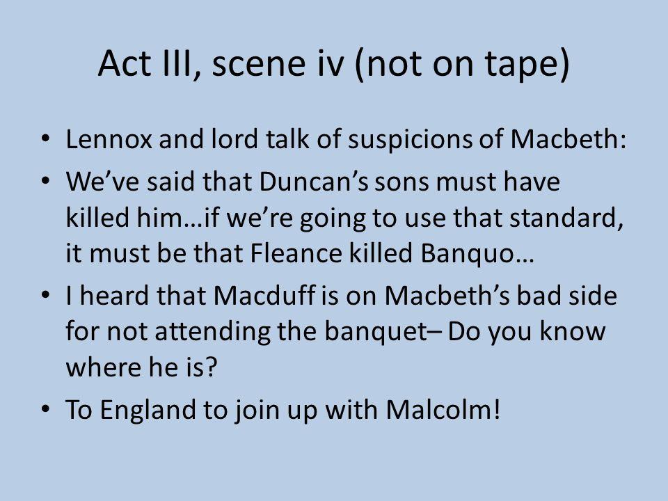 Act III, scene iii SKIP THIS SCENE OF HECATE –
