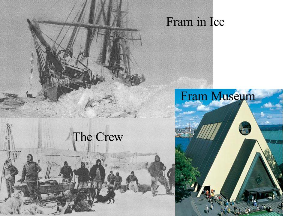Fram Museum Fram in Ice The Crew