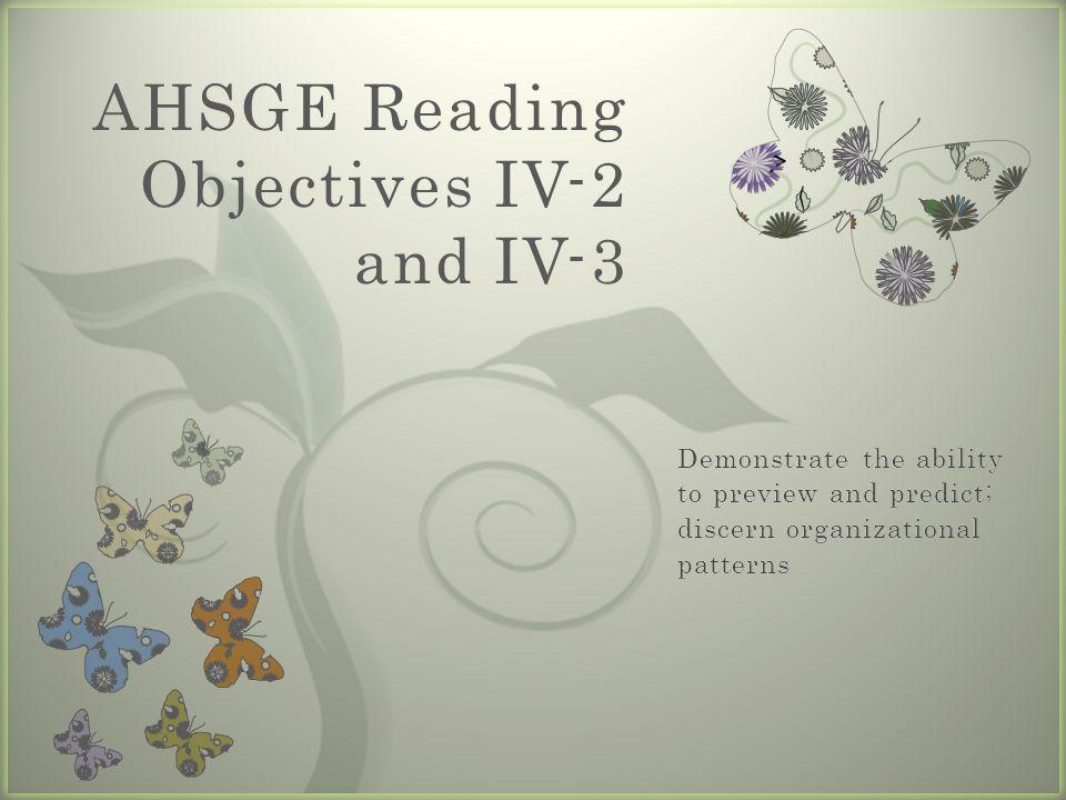 Objective IV-2