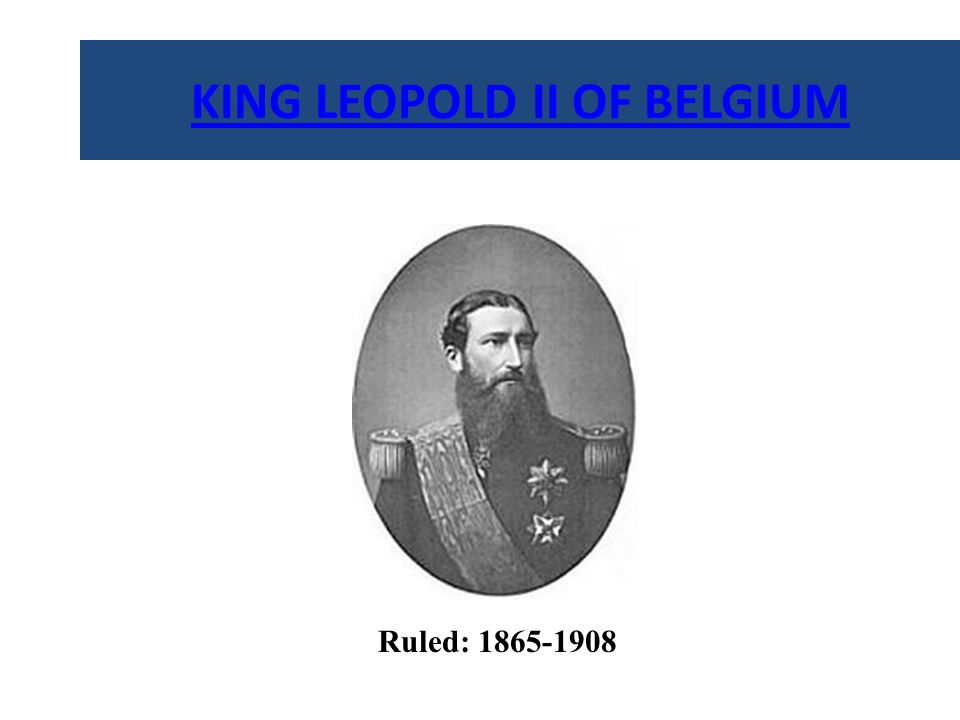 LEOPOLD II and STANLEY King Leopold II of Belgium commissioned the explorer Henry Stanley to secure agreements from the tribes who inhabited the Congo Basin in Africa (1879-84).