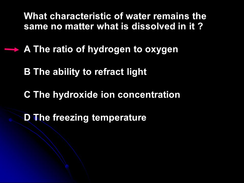 Which of the following is an example of a chemical change? F Ice cracking G Sugar dissolving H Milk souring J Lead melting