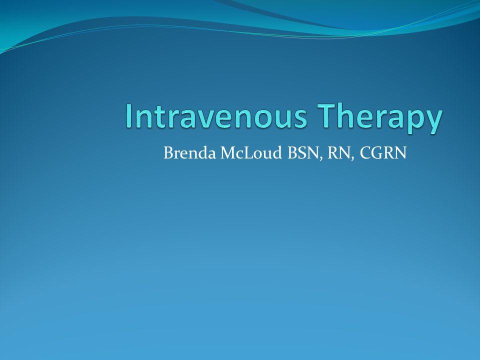 Brenda McLoud BSN, RN, CGRN