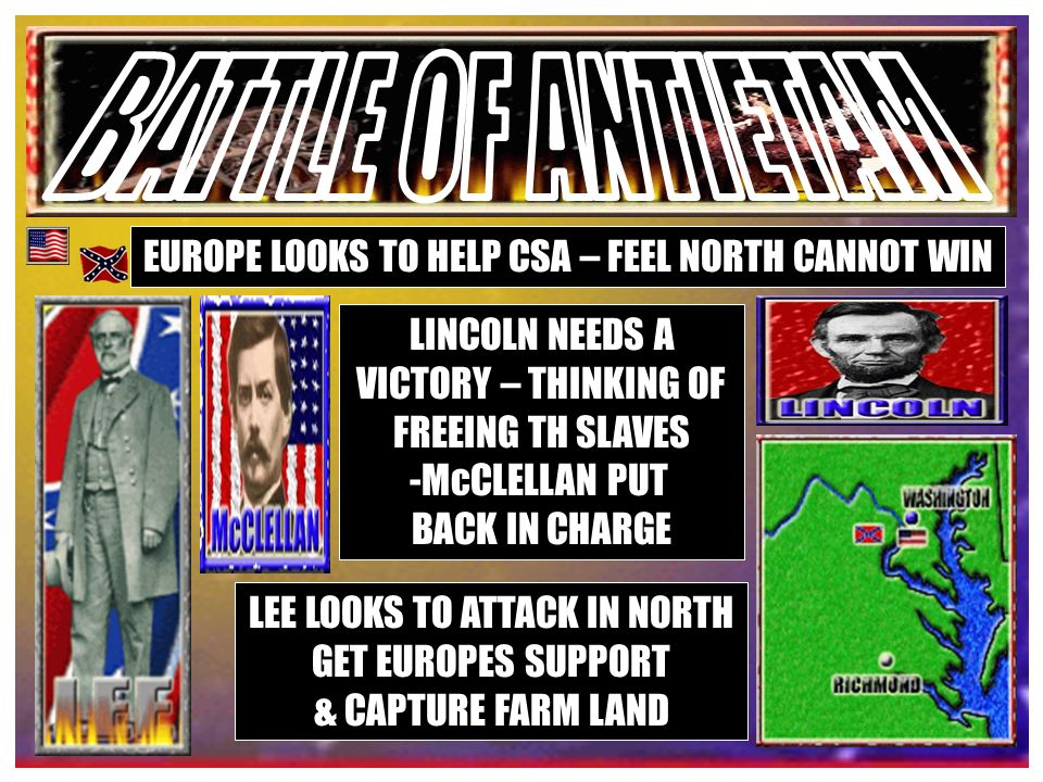 McCLELLAN RELIEVED OF COMMAND POPE TAKES OVER & ATTACKS! LEE COUNTERS – POPE DEFEATED AT MANASSAS!