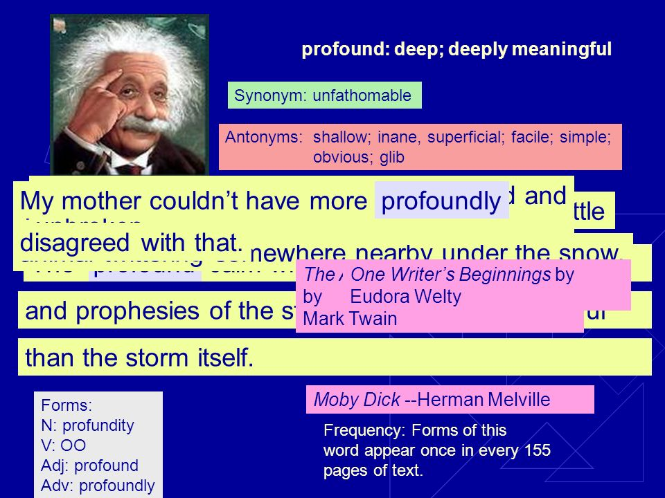 profoundcalm which only apparently precedesThe and prophesies of the storm is perhaps more awful than the storm itself.