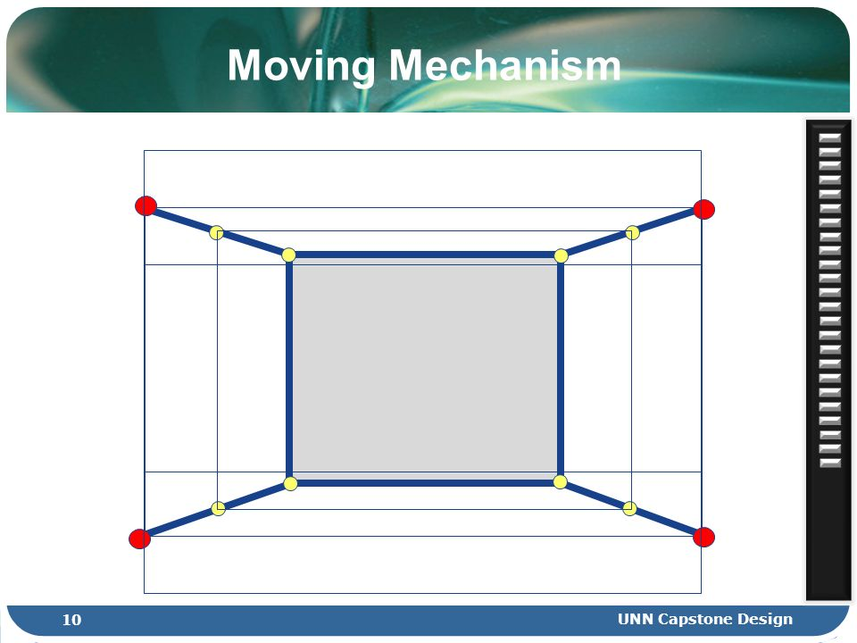 Moving Mechanism 10 UNN Capstone Design