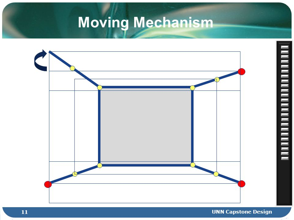 Moving Mechanism 11 UNN Capstone Design
