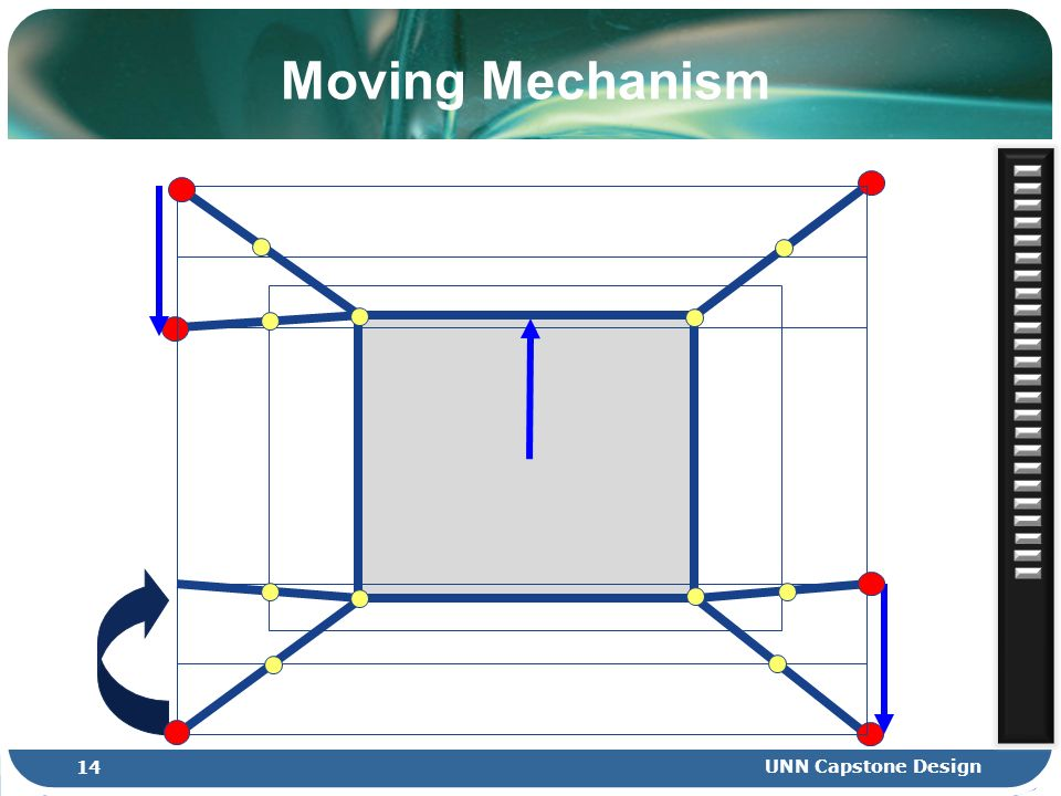 Moving Mechanism 14 UNN Capstone Design