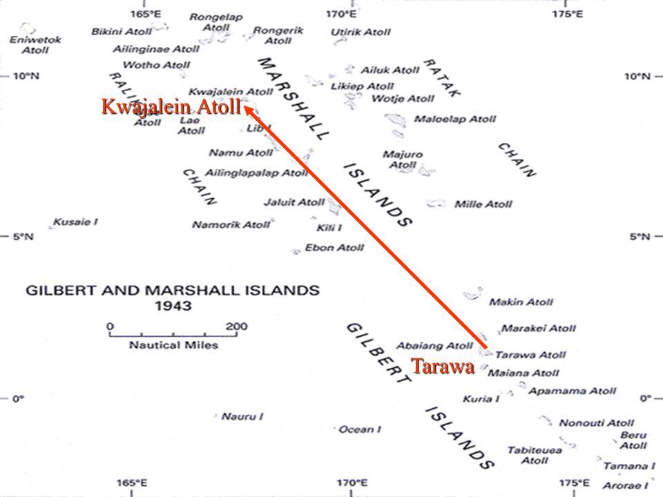 Tarawa Kwajalein Atoll