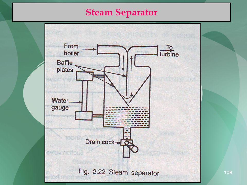 108 Steam Separator