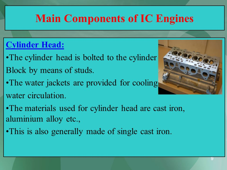 40 Four Stroke Petrol Engine - Working (c) Working or Power or Expansion Stroke: (Third Stroke of the Engine) The burning gases expand rapidly.