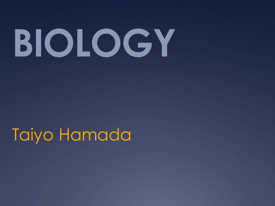 BIOLOGY Taiyo Hamada