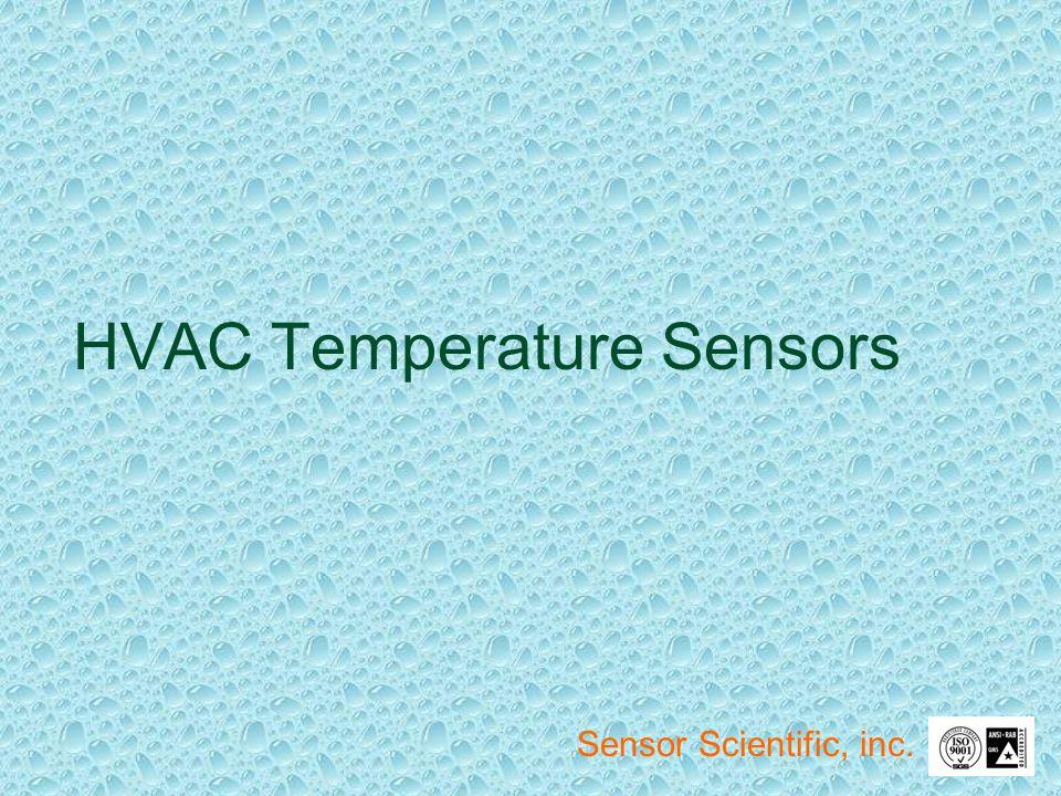 HVAC Temperature Sensors Sensor Scientific, inc.