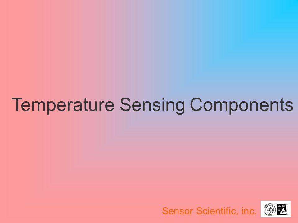Temperature Sensing Components Sensor Scientific, inc.