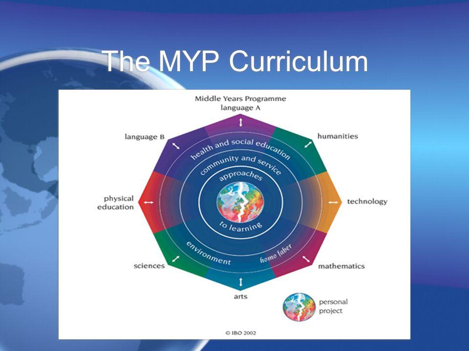 The MYP Curriculum