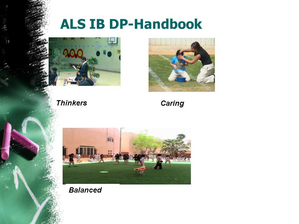 ALS IB DP-Handbook Thinkers Caring Balanced