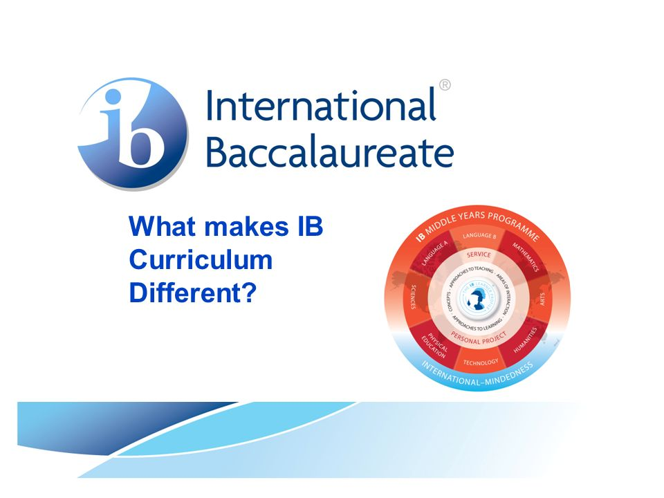 What makes IB Curriculum Different?