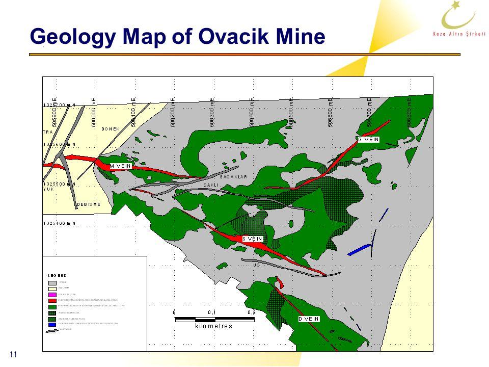 11 Geology Map of Ovacik Mine