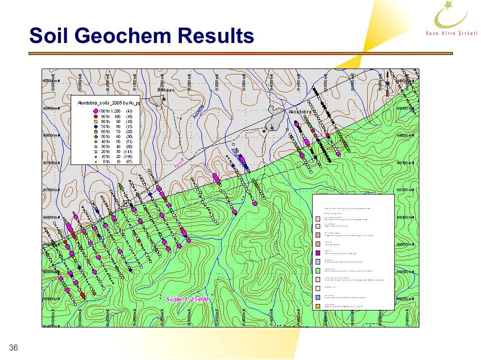 36 Soil Geochem Results