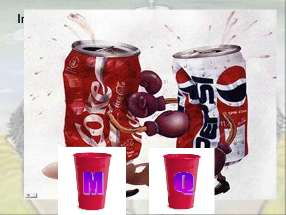 In the 1970s Pepsi, concerned about Coca- Colas 3-1 lead in the sales in the Dallas area of the US, published a promotion supposedly showing that more