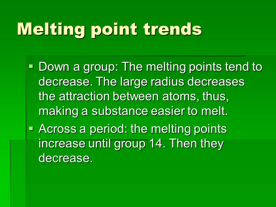 Applying periodic trends to chemical reactivity Metals are reactive if: Metals are reactive if: (lose e- in reactions) (lose e- in reactions) Larger r