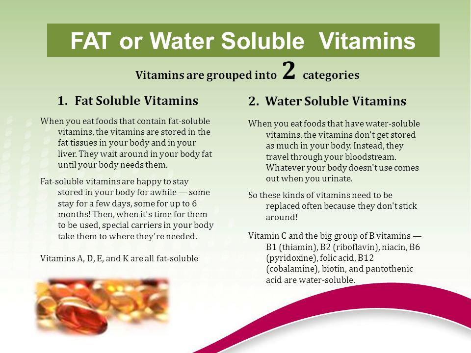 Vitamin A Vitamin A works together with vitamins D, B, E, zinc, phosphorus and calcium.